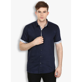 Stylox Blue Casual fit Cotton Shirt(SHT031), 42