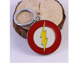 Flash Metallic Logo Keychain