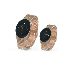 Imported RADO Esenza Copper And Black Couple Watch