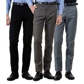 Combo of 3 Export Surplus Branded Formals Pants, 34