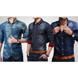Combo of 3 Export Surplus Branded Denim Shirts, s