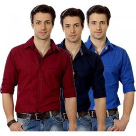 Combo of Export Surplus Branded Casual Shirts, m