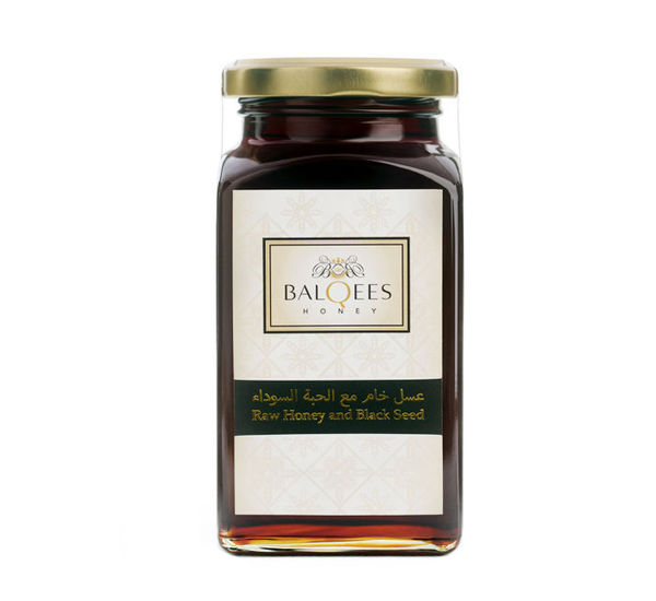 Raw Honey and Black Seed, 1 kg