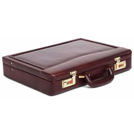 WildHorn 100% Genuine Leather Premium Briefcase Attache Bag| Office| Meeting (WHBRF002)
