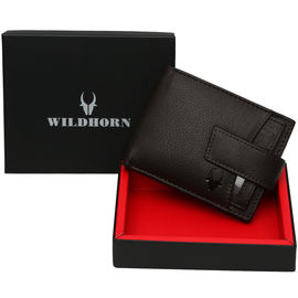 WILDHORN NEW BROWN HIGH QUALITY GENUINE MEN' S LEATHER WALLET…