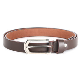 WILDHORN NEW BROWN HIGH QUALITY GENUINE WOMEN' S LEATHER BELT, 179-38, 28