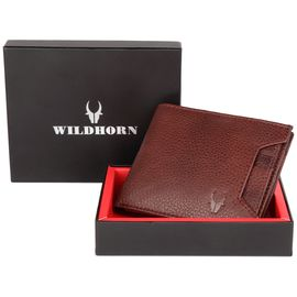 WILDHORN NEW HIGH QUALITY GENUINE MEN' S LEATHER WALLET… 2074