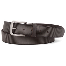 WILDHORN CASUAL 100% GENUINE LEATHER BELT FOR MEN, 34, chocolate