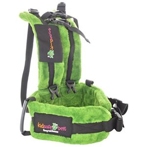 KIDSAFEBELT - Two Wheeler Child Safety Belt - World's 1st, Trusted & Leading (Air-Prime), green