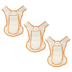 Newborn Muslin Diapers Pack of Three
