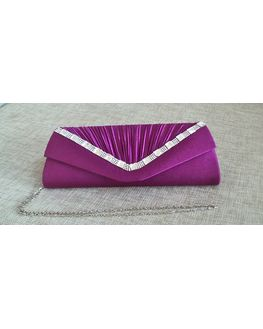 Stylish Magenta Clutch