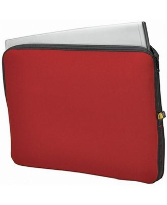 Case Logic NCLE-17 Reversible Neoprene 17  Laptop Shuttle (Black/Red)