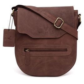 WildHorn Leather Messenger Bag DIMENSION: L- 9.5inch H- 11inch W- 0.5inch