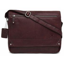 WildHorn Leather Brown Laptop Messenger Bag