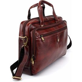 WildHorn Leather Laptop Messenger Bags, Dimension: L-15 inch W-2.5 inch H-11.5 inch