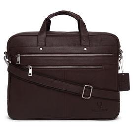 WildHorn Leather Laptop Bag DIMENSION L-16inch W-3inch H-12inch
