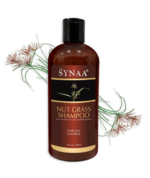 Synaa Nut Grass Shampoo For Hair Fall Control - Women and Men 400ml