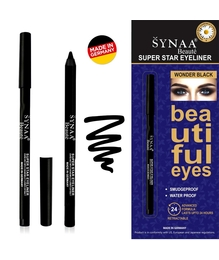 Synaa Super Star Eyeliner - Wonder Black (1.2g)