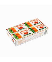 Synaa Papaya Soap - Skin Whitening Soap (Pack of 4 - 540g)