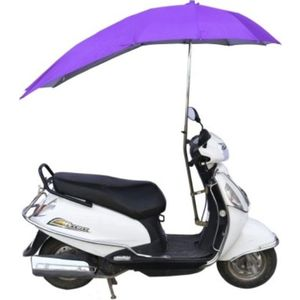 Umbrella for Two Wheeler Scooters, violet