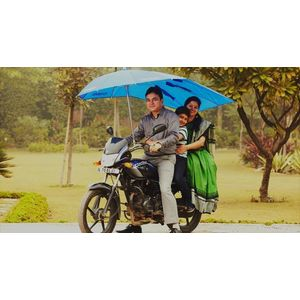 Umbrella for Two Wheeler Bikes, umtwb004