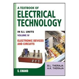 Text book of Electrical Technology volume- 4- Electronic Devices and Circuits