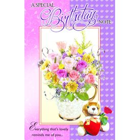 Special Birthday Note 1