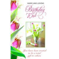 Warm And Loving Birthday Wish