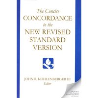 Concise Concordance to the NRSV
