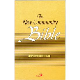 New Community Bible (Yellow)