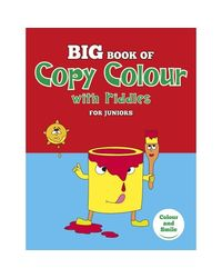 Big Book Of Copy Colour With Riddles For Juniors (Red)