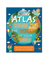 Factivity Atlas Explore The Wonders Of Your World (Factivity Bumper)
