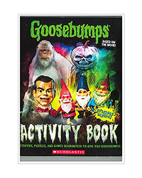 Goosebumps The Movie: Activity Book With Stickers