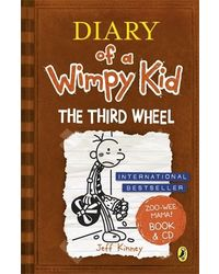 Diary of a Wimpy Kid: The Third Wheel (Book 7) Book & CD