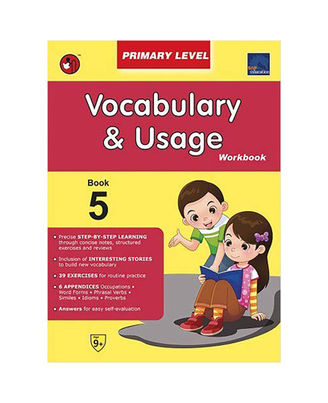 Sap Vocabulary & Usage Workbook Primary Level 5