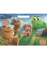 Disney Pixar Good Dinosaur: Over 30 Pull- out Pages (Floor Coloring Pad)
