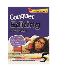 Sap Conquer Editing For Primary Levels Workbook 5