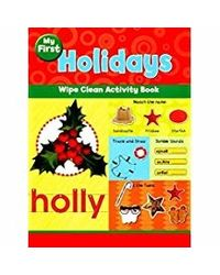 My First Holidays Wipe Clean Activity Book