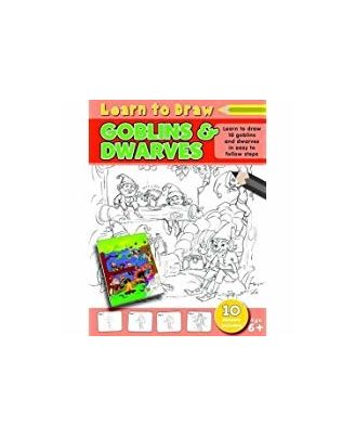 Learn to Draw Goblins and Dwarves: Learning To Draw Activity Book