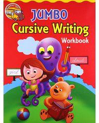 Jumbo cursive writing workbook