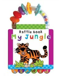 Jungle: Early Learning (Handle Rattle Book)