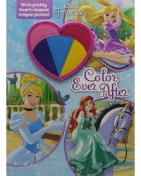 Disney Princess Deluxe Colouring