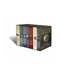 A Song Of Ice And Fire- A Game Of Thrones: The Complete Boxset Of 7 Books