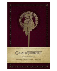 Game Of Thrones: Hand Of The King Hardcover Ruled Journal