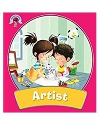 Professions square book artist