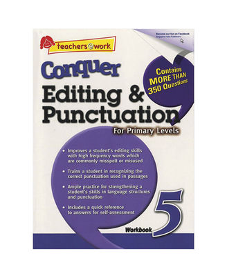 Sap Conquer Editing & Punctuation For Primary Levels Workbook 5