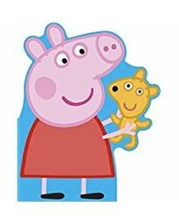 Peppa Pig: All About Peppa- A Peppa- shaped board book
