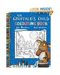 Gruffalo's child: coloring boo