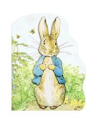 Large Shaped Peter Rabbit Board Book