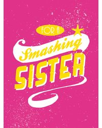 For A Smashing Sister Hb(Nr)